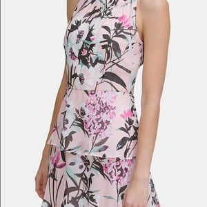 Tommy Hilfiger Petite Tiered Floral Maxi Dress